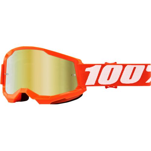 MASCHERA 100% STRATA 2 ORANGE