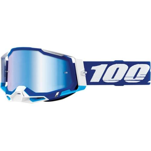 Shop Online MASCHERA 100% RACECRAFT 2 BLU