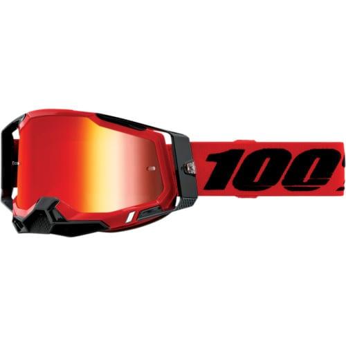 Shop Online MASCHERA 100% RACECRAFT 2 RED