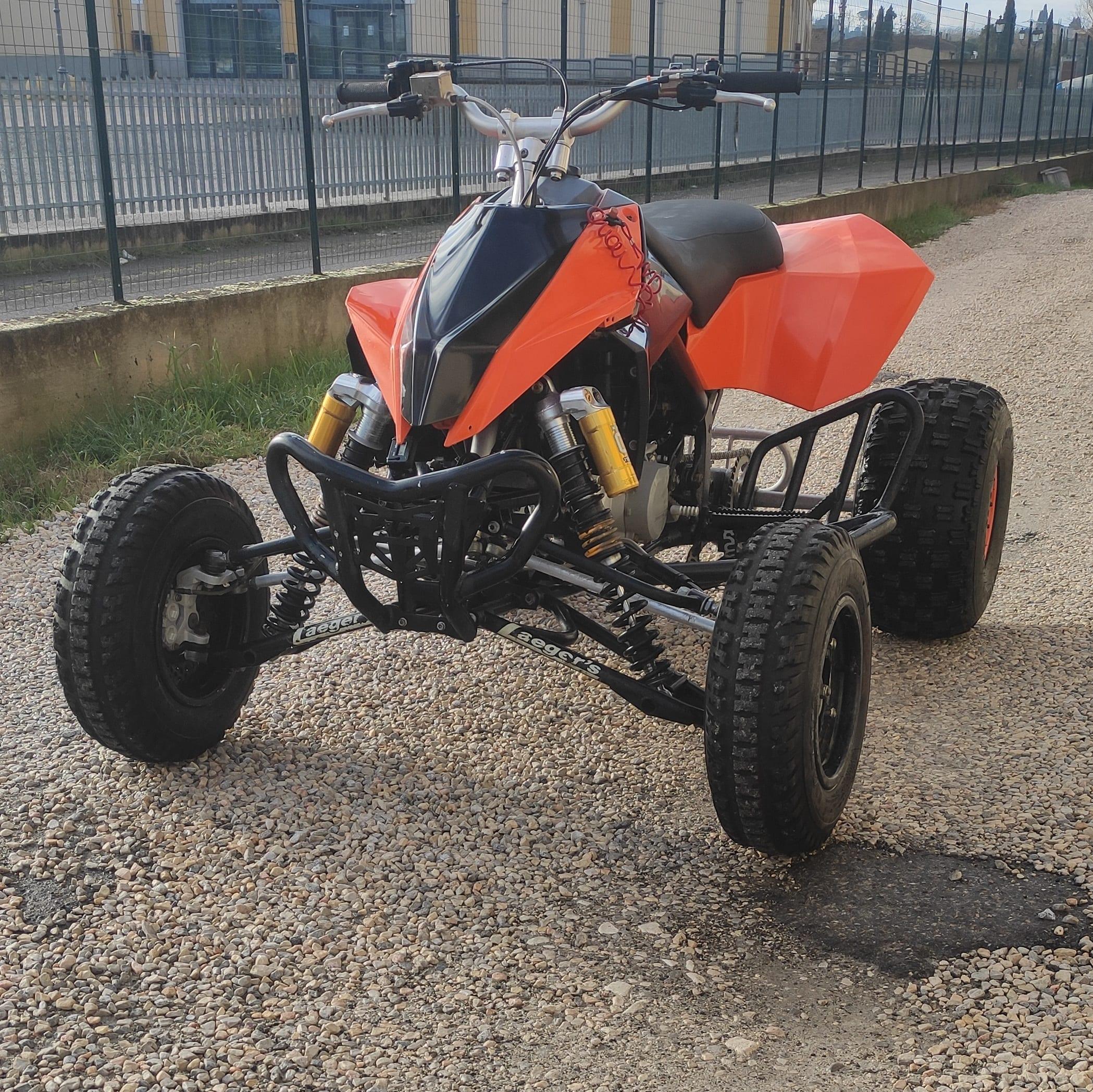 ATV KTM XC 450 2009