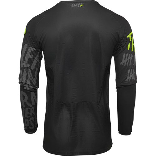 Shop Online MAGLIA MOTOCROSS THOR PULSE COUNTING SHEEP LIME